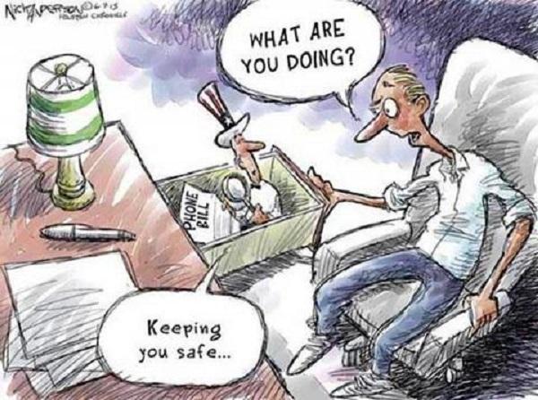 Что ты здесь делаешь? – Обеспечиваю твою безопасность...