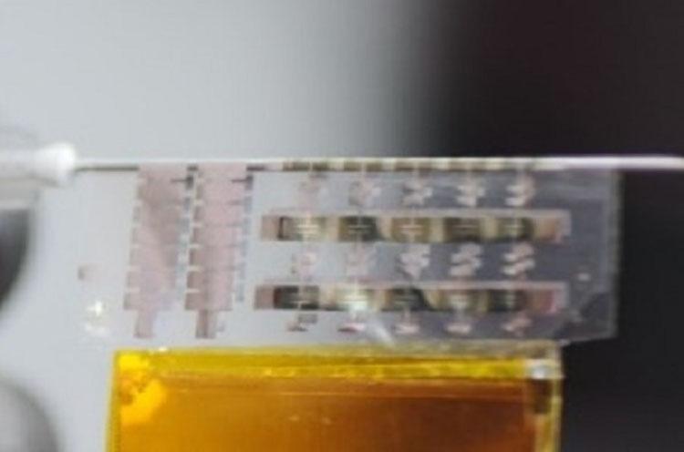 Сворачиваемый в трубочку массив NAND-флеш (KAIST)