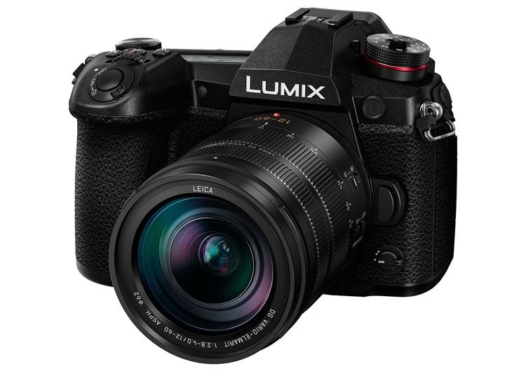 Беззеркальный фотоаппарат Panasonic Lumix DC-G9 поддерживает запись видео 4К