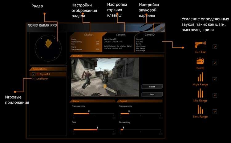 """Sonic Radar Pro позволит определить в игре местоположение противника по звуку"""""""