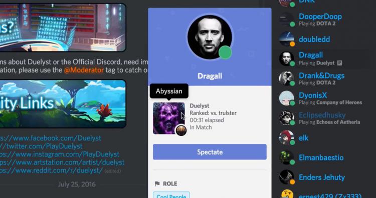 """В Discord теперь можно подключаться к играм друзей"""""""