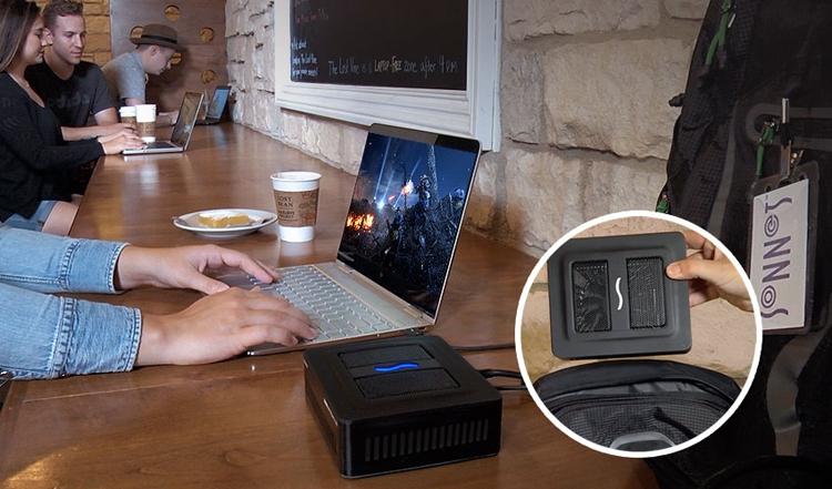 gpu3 - Sonnet eGFX Breakaway Puck: внешний видеоадаптер в компактном корпусе