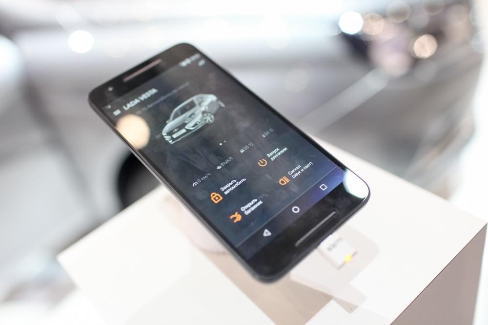 Lada Grantaполучит систему управления со смартфона в 2018 году