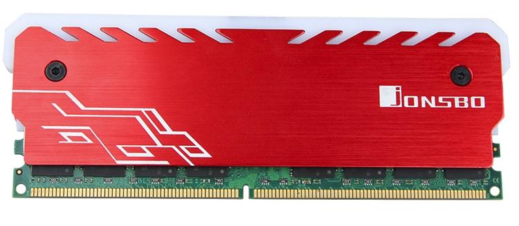 jb3 - Кожухи Jonsbo NC-1 позволят наделить модули памяти многоцветной подсветкой