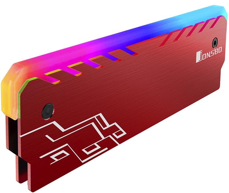 jb5 - Кожухи Jonsbo NC-1 позволят наделить модули памяти многоцветной подсветкой
