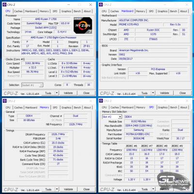 Разгон модулей Samsung