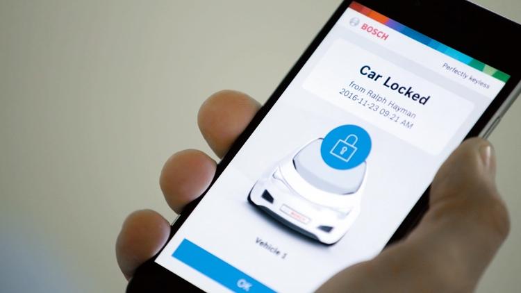 Смартфон вместо ключа от автомобиля