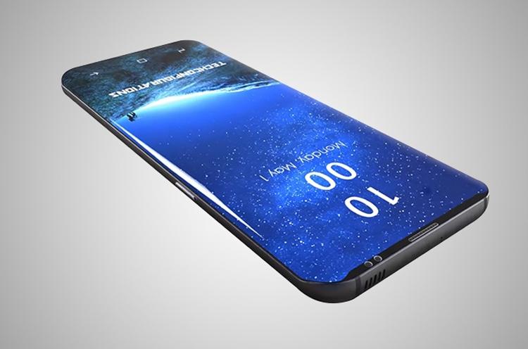 Концепт-арт Galaxy S9 / gizbot.com