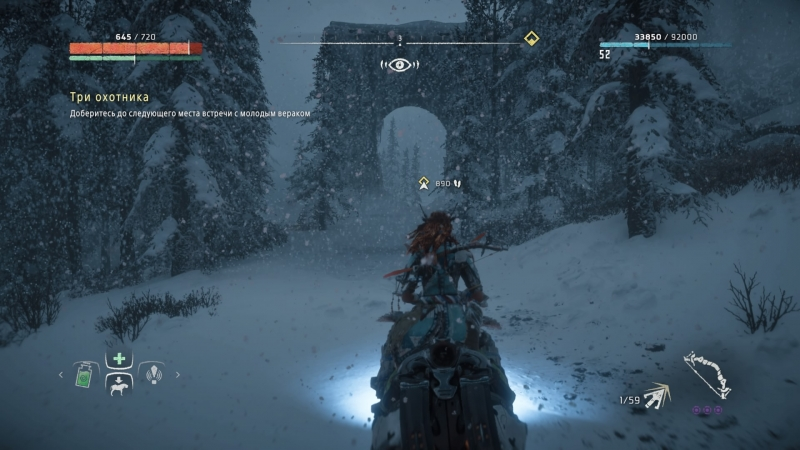 Зимняя тематика преображает и без того шикарно выглядящую игру