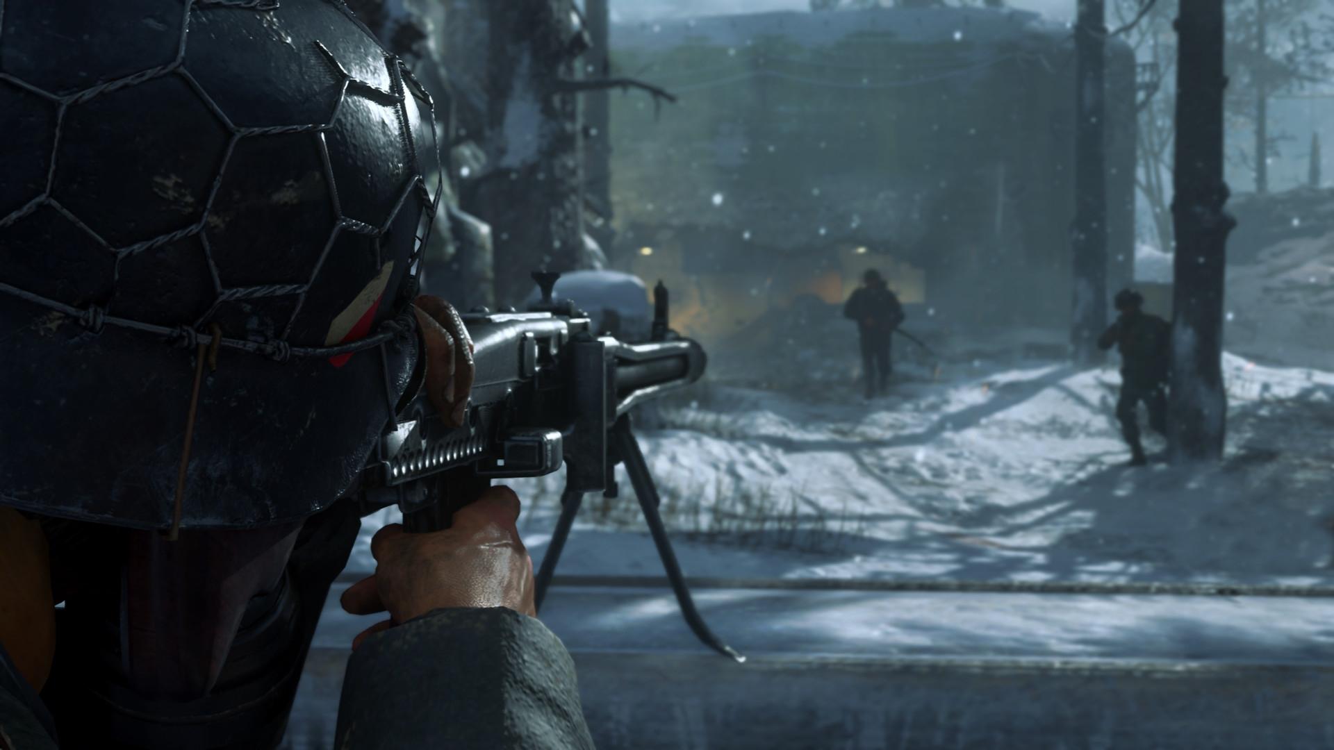 В муРьтипРеере Call of Duty WWII заработаРи выдеРенные серверы