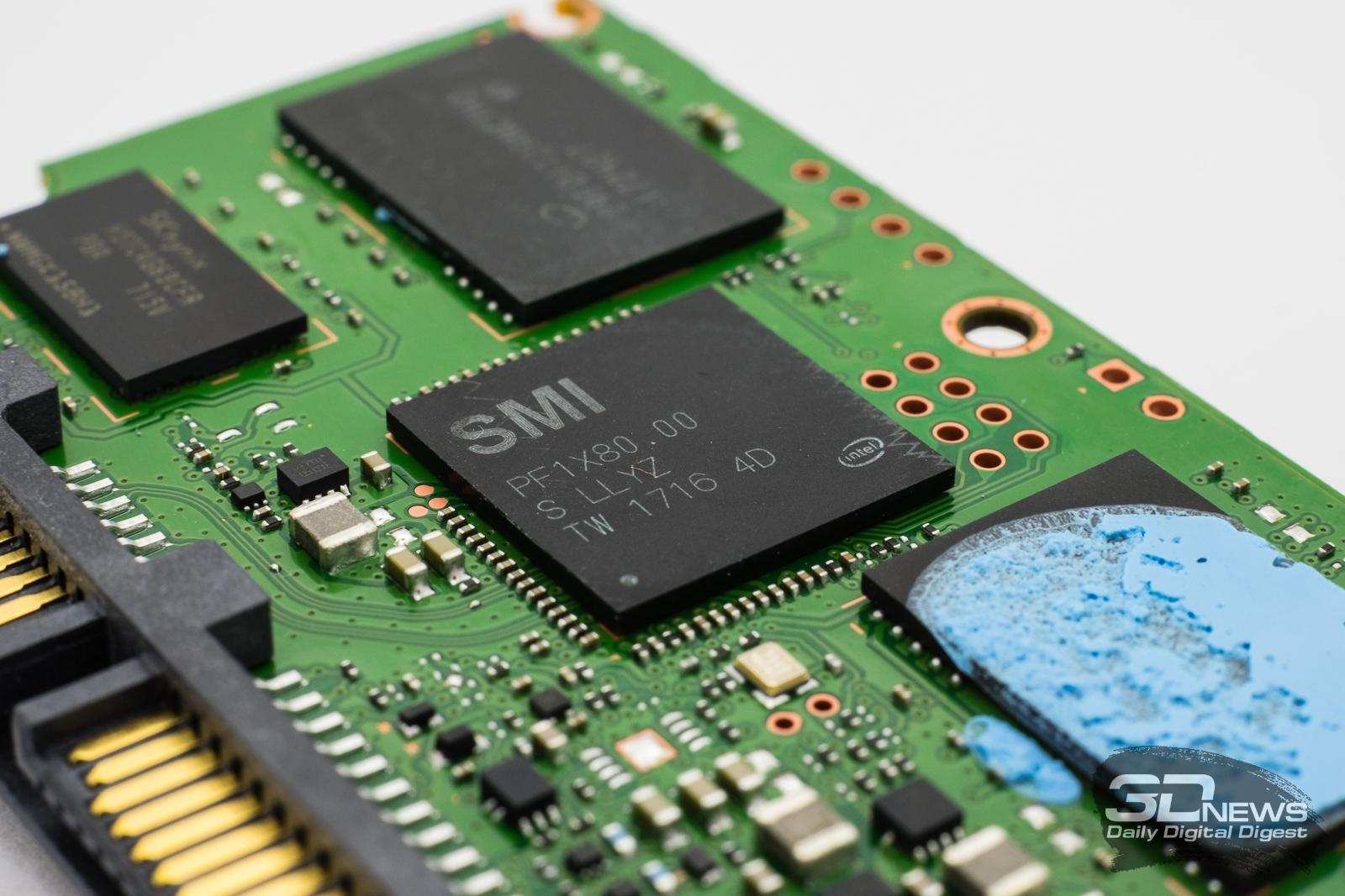 Обзор SSD-накопителя Intel SSD 545s: и снова Intel Inside