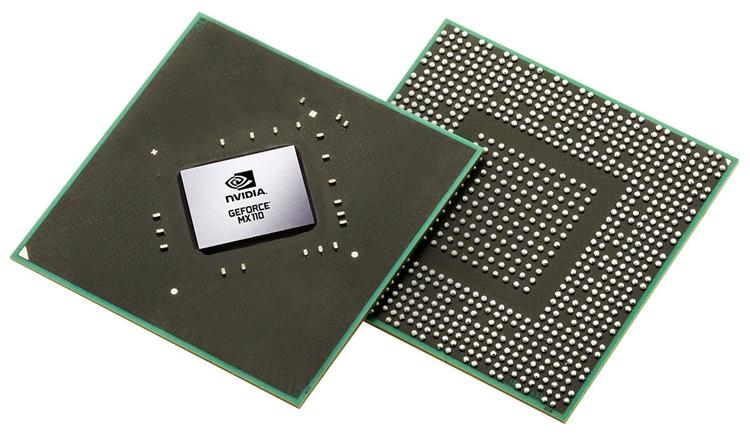 NVIDIA представила графические чипы GeForce MX130 и MX110 для ноутбуков