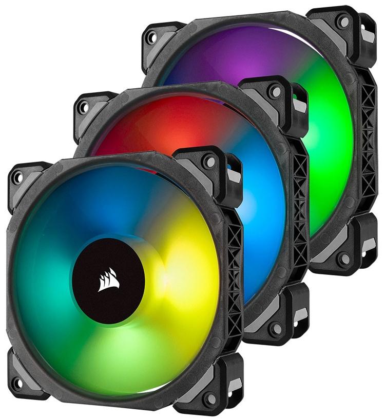 Corsair ML PRO RGB: корпусные вентиляторы с технологией магнитной левитации