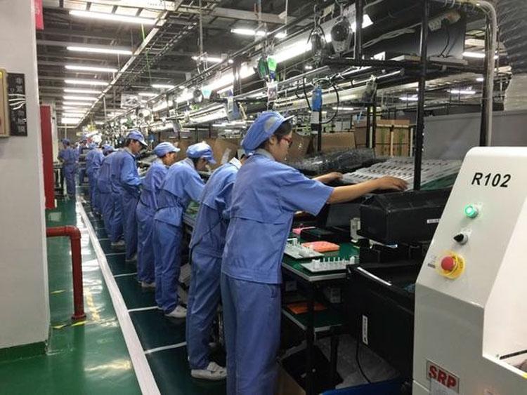 На китайском сборочном заводе Toshiba (Nikkei)