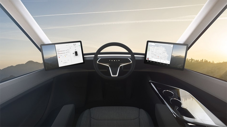 "Tesla представила электрический грузовик с запасом хода около 800 км"""