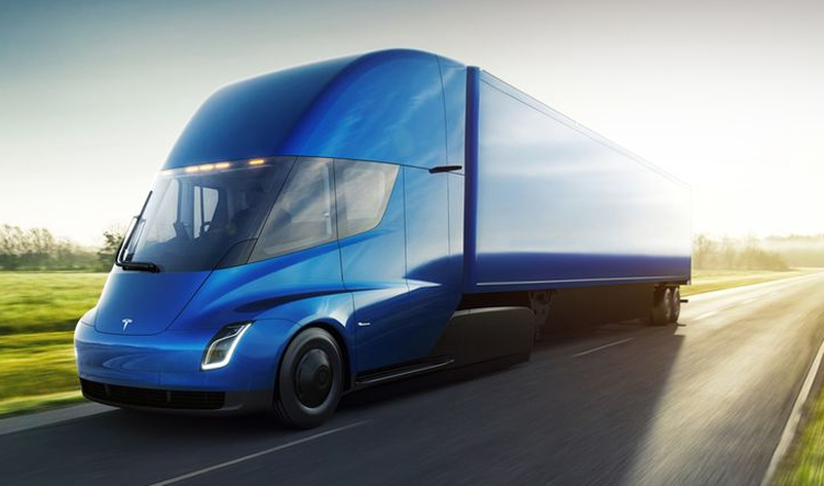 Tesla разработала 1-ый вмире электрический грузовой автомобиль