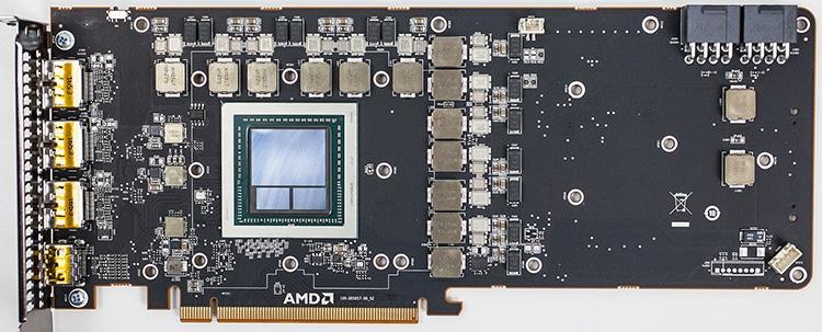 Печатная плата AMD Radeon RX Vega 64
