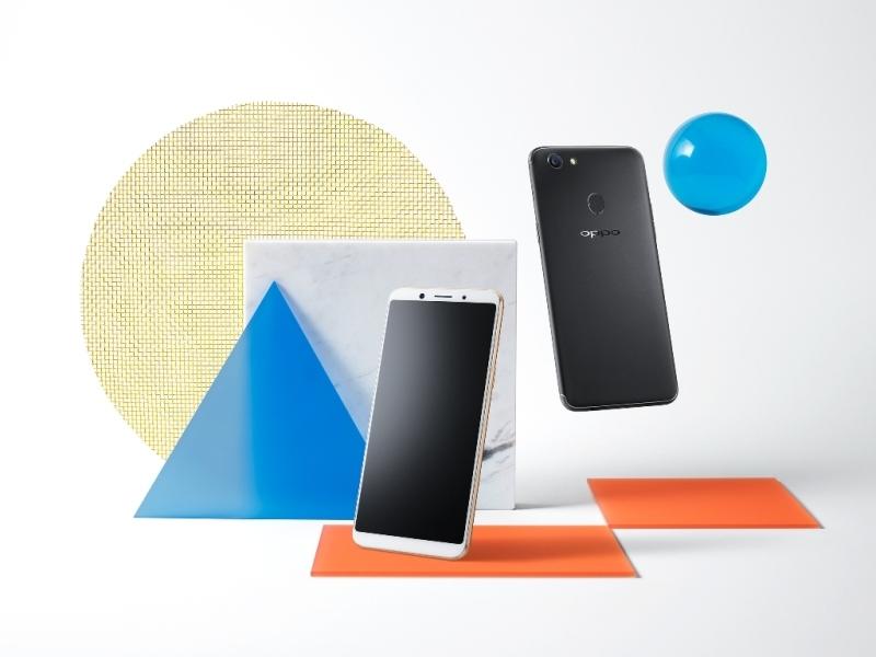 OPPO представила в России смартфон F5 для любителей селфи