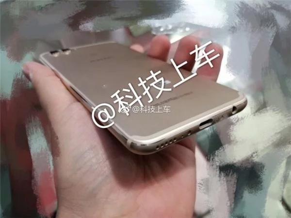 04 - Huawei Aurora: фото безрамочного смартфона с фронтальным сканером отпечатков
