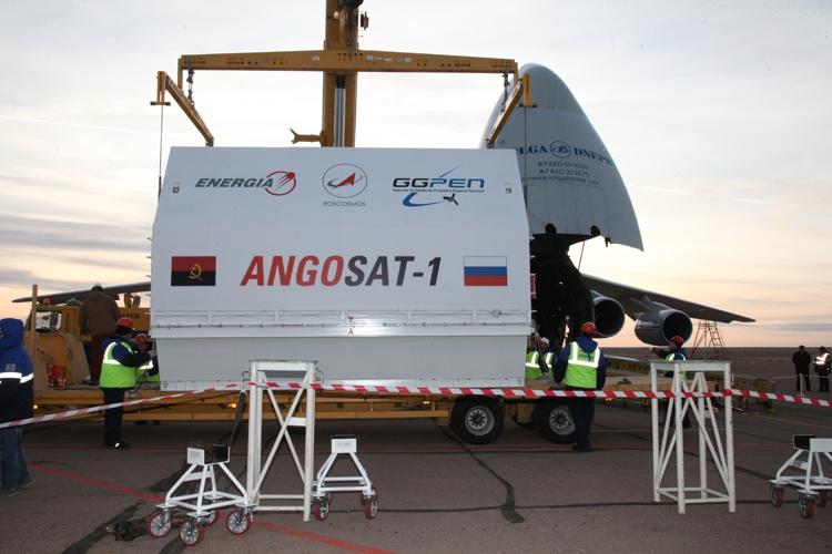На Байконуре возникла нештатная ситуация при подготовке к запуску аппарата «Ангосат»