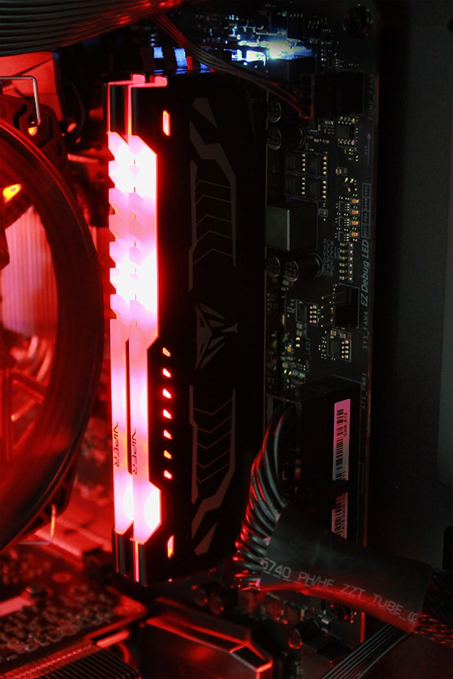 1141 2 - Patriot представила комплекты памяти Viper LED DDR4
