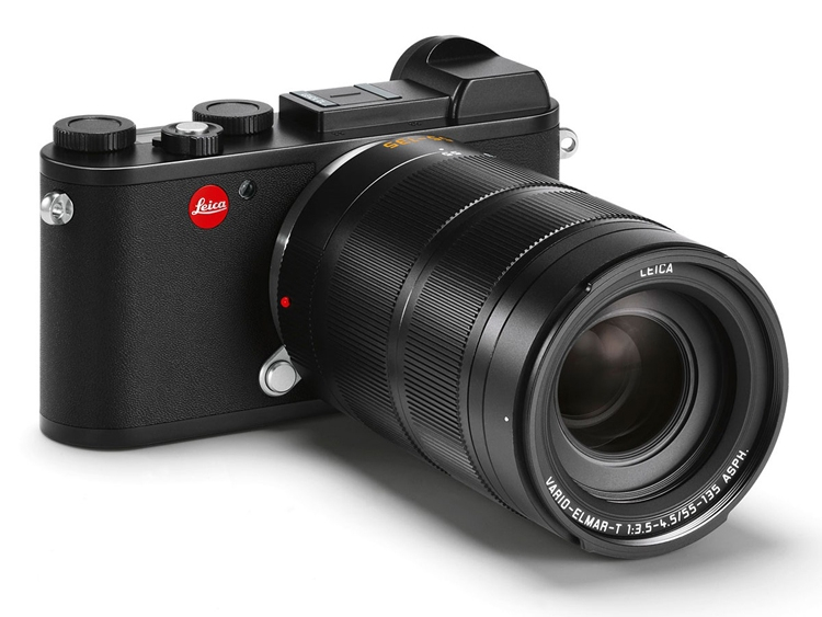 """Фотокамера Leica CL оснащена видоискателем и сенсорным дисплеем"""""""