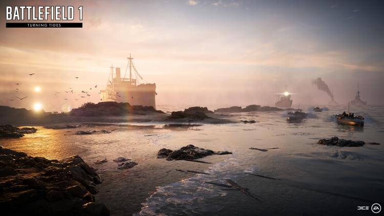 """Дополнение Battlefield 1: Turning Tides выйдет 11 декабря"""""""
