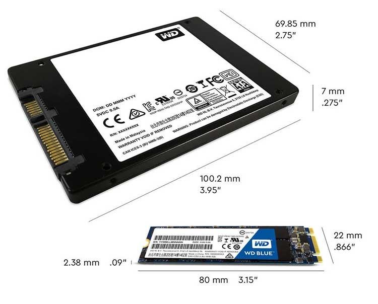 blue3d tech specs.jpg.imgw.2 - Накопитель WD BLUE 3D NAND SATA SSD на 64-слойной технологии 3D NAND будет доступен с ёмкостью до 2 Тбайт