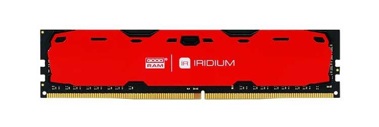 dram iridium 01 front red 2 - IRDM by GOODRAM — серия для геймеров и энтузиастов киберспорта