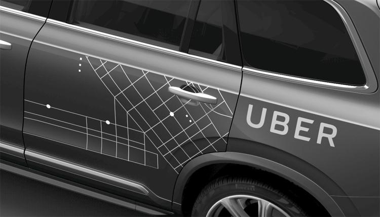 Фотографии Volvo / Uber