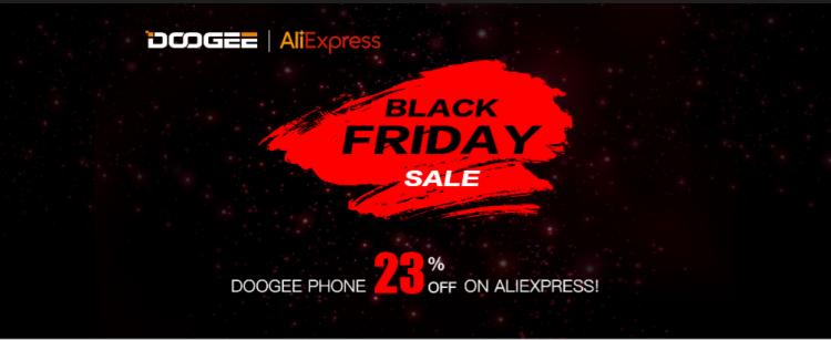"""Doogee предлагает скидку 23 % на смартфоны в «Чёрную пятницу»"""""""