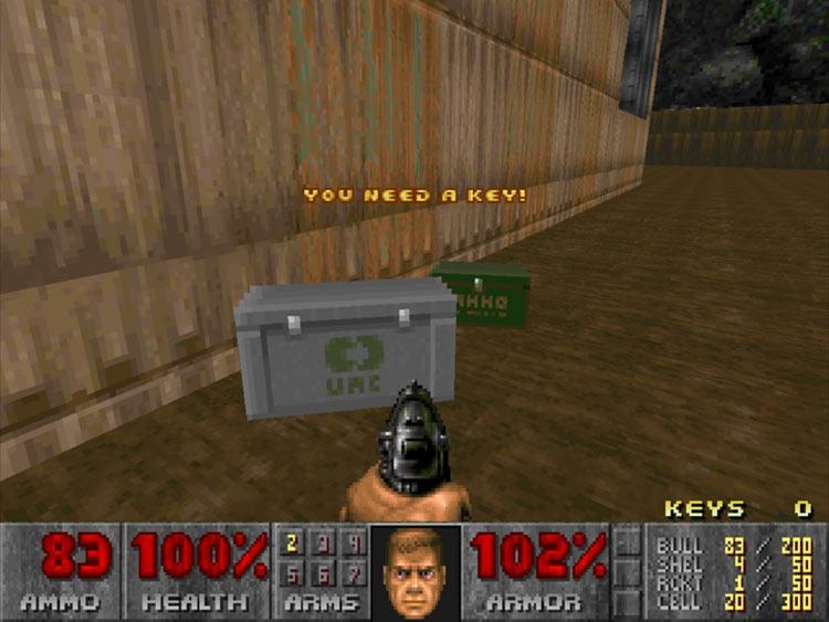 """Видео: система контейнеров добралась до оригинального Doom благодаря моду"""""""