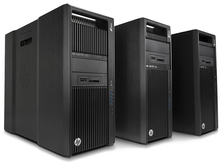 Рабочие станции HP Z-Series с Intel Xeon на борту