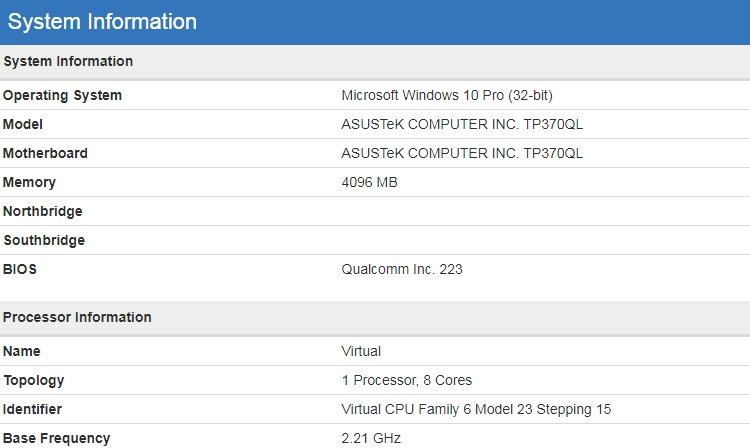 asus2 - ASUS тестирует ноутбук с Windows 10 и процессором ARM