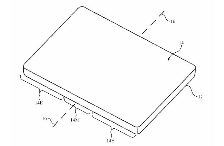 apple1 - Apple патентует смартфон со складным дисплеем