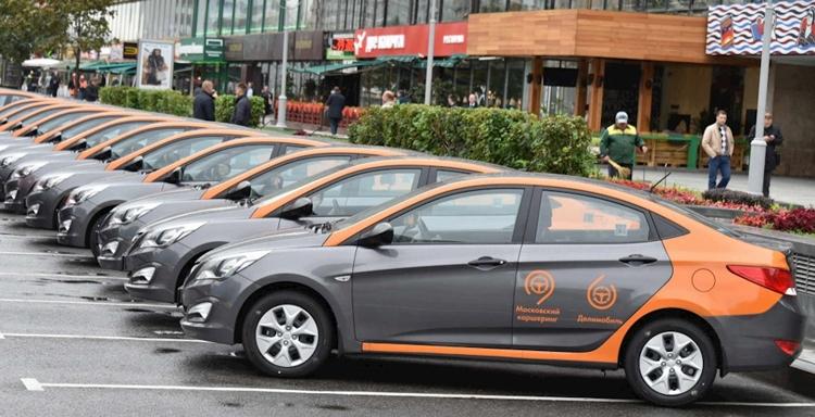 Mạng lưới cho thuê xe ô tô Mátxcova đạt mức lớn nhất châu Âu
