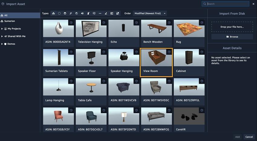 Библиотека объектов, aws.amazon.com