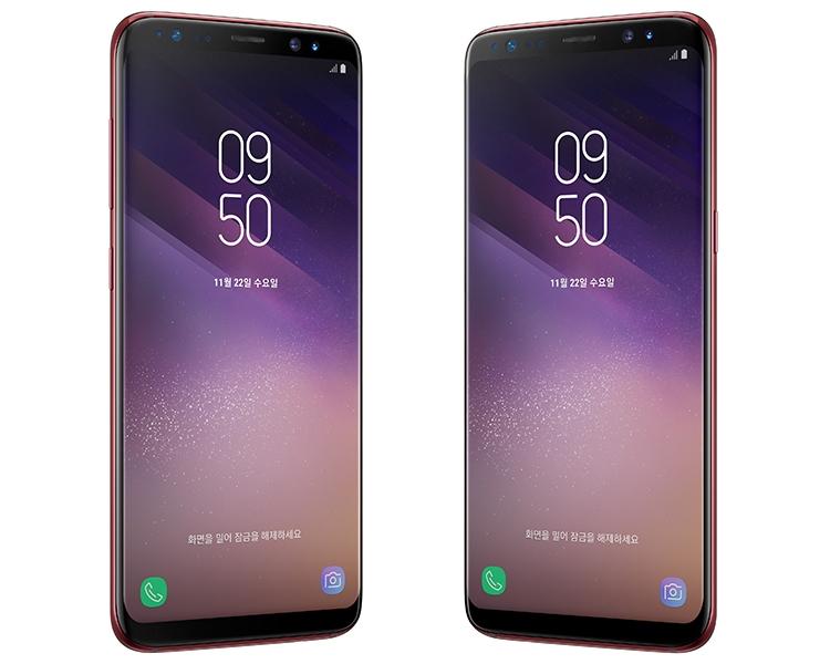 """Смартфон Samsung Galaxy S8 вышел в красном цвете"""""""