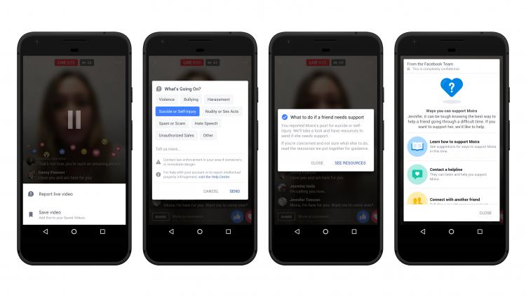 """Facebook запустит ИИ-систему прогнозирования самоубийств по всему миру"""""""