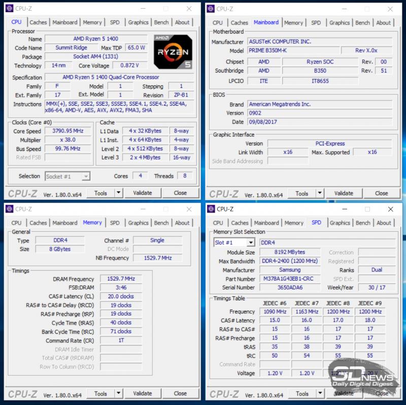 Разгон оперативной памяти Samsung