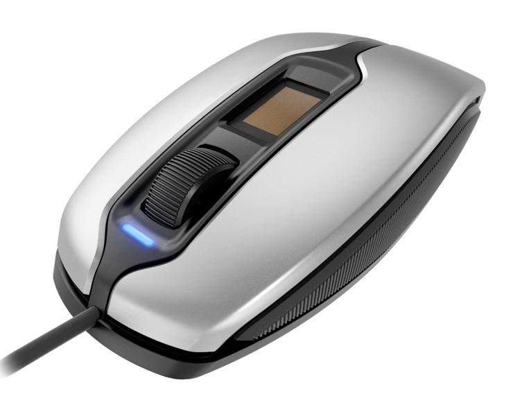 """Мышь Cherry MC 4900 оснащена дактилоскопическим сканером"""""""