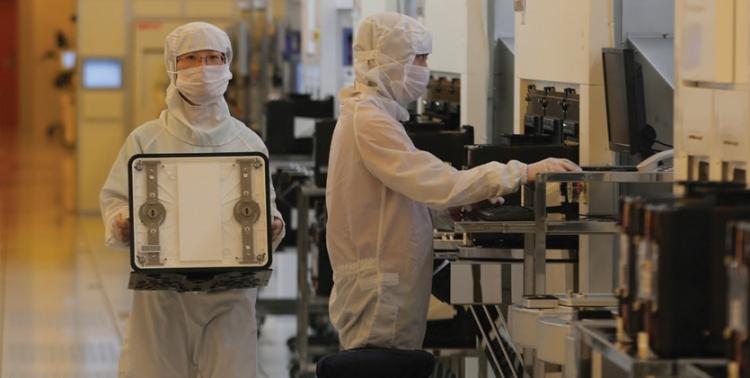 Внутри производственного комплекса Samsung Foundry
