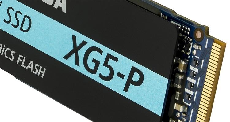 ssd2 - SSD-накопители Toshiba XG5-P формата М.2 могут хранить до 2 Тбайт данных