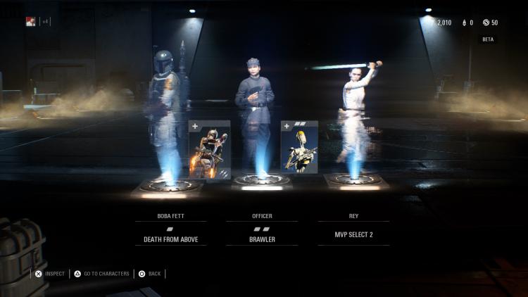 Награды из контейнера в Star Wars Battlefront II