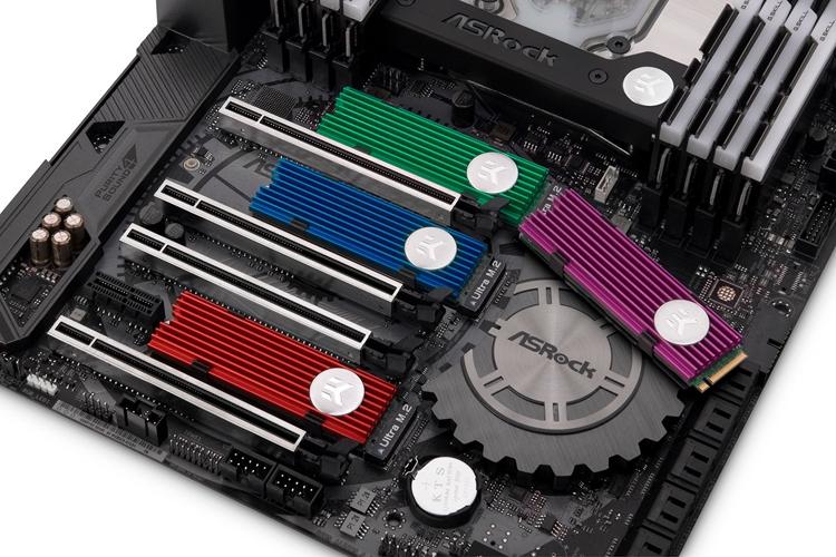 ek1 - EK выпустила цветные радиаторы для SSD-накопителей M.2