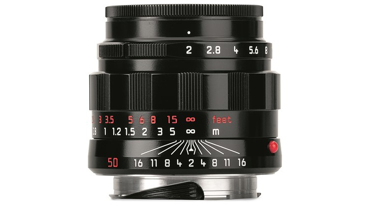 Leica представила ретро-версию объектива APO-Summicron-M 50mm f