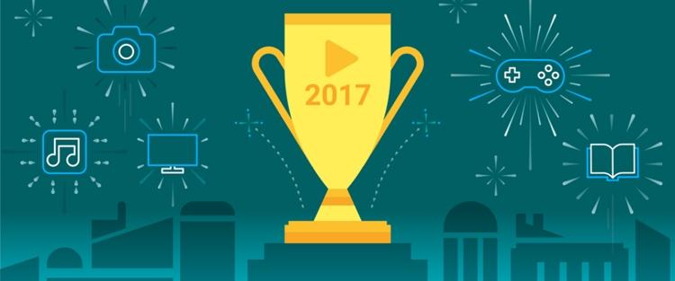 """Назван самый популярный контент магазина Google Play в 2017 году"""""""