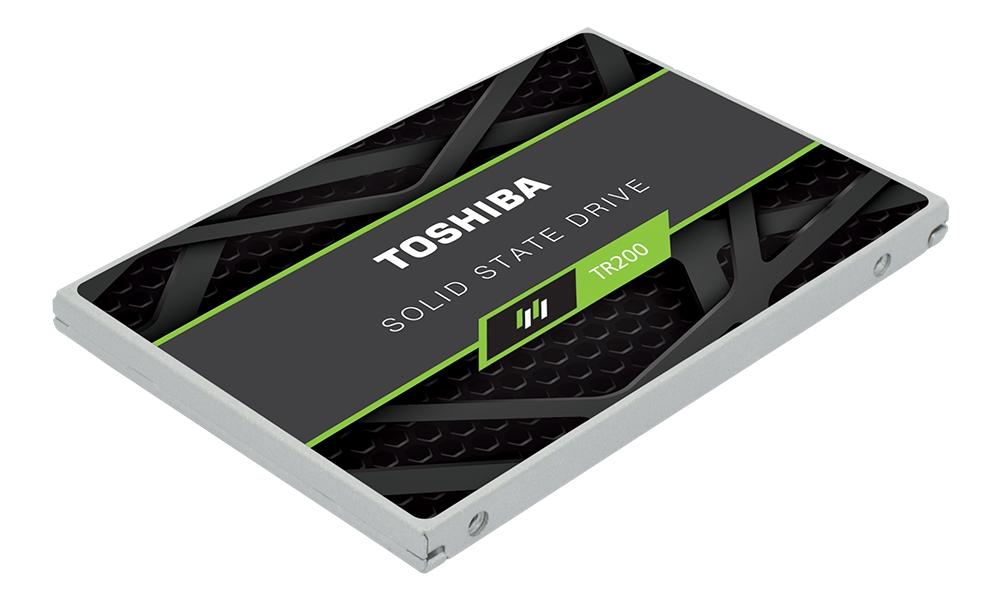 Обзор SSD-накопителя Toshiba TR200: первый с BiCS3 / Накопители