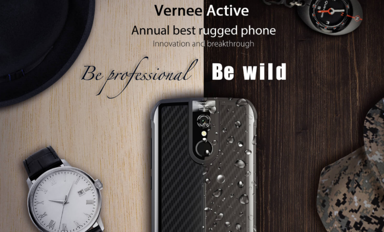 Vernee Active— новый защищенный смартфон встандартных габаритах