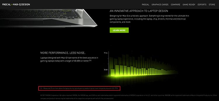 """Ноутбуки с GeForce Max-Q оказались более шумными, чем ожидалось"""""""